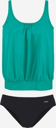 LASCANA Tankini in de kleur Jade groen / Zwart, Productweergave