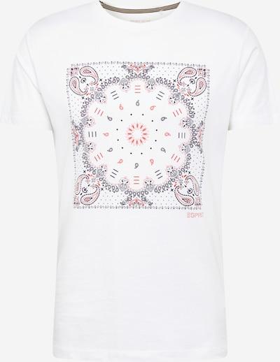 ESPRIT Majica | mešane barve / bela barva: Frontalni pogled