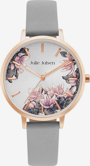 Julie Julsen Quarzuhr 'Blossom' in rosegold / taupe / naturweiß, Produktansicht