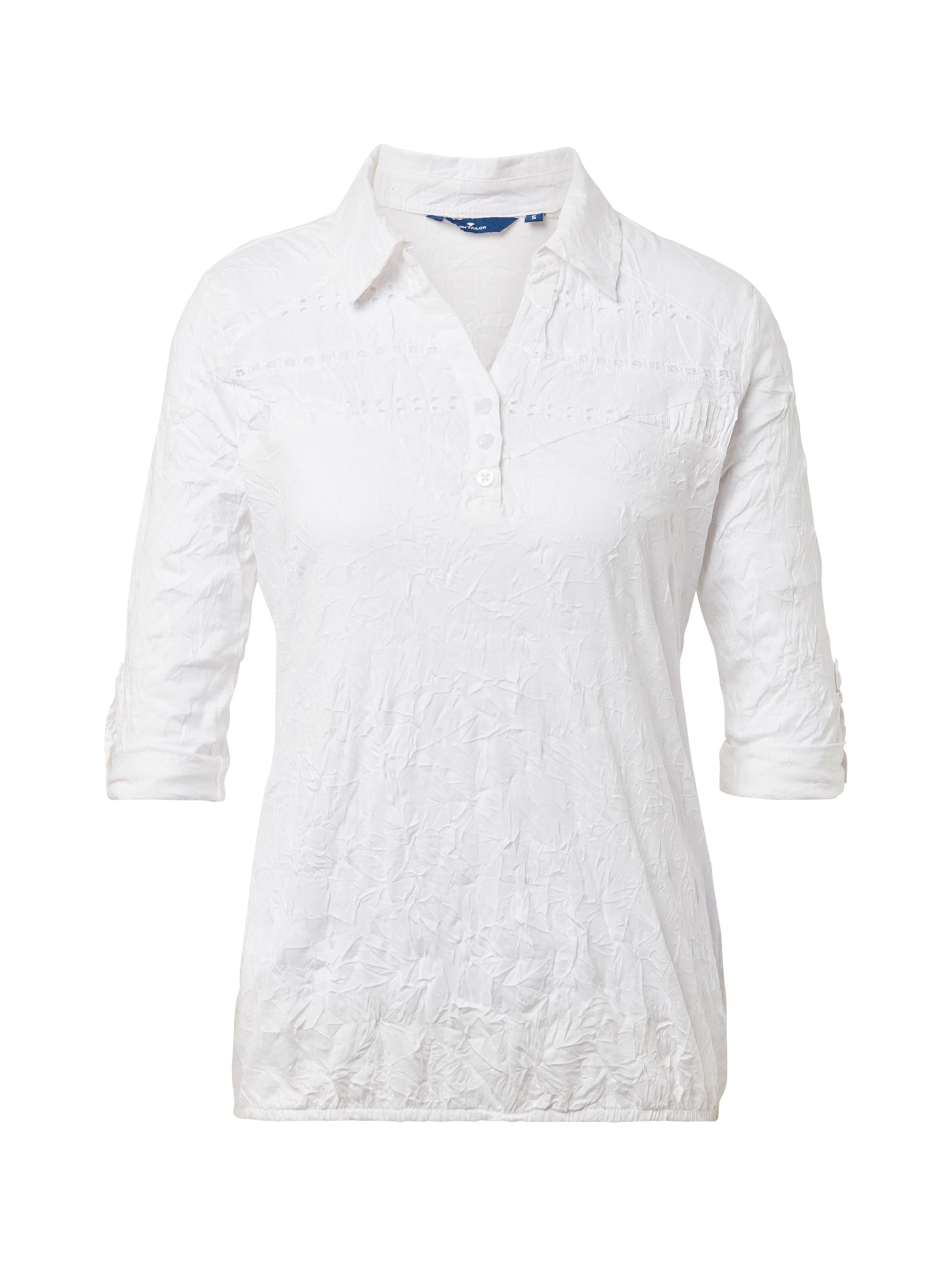 Poloshirts Poloshirts Tailor In Weiß Tom Tom Tailor CerxBWod
