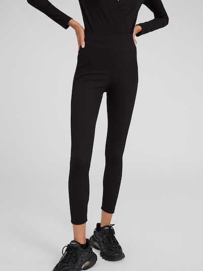 EDITED Leggings 'Shaylee' in schwarz, Modelansicht