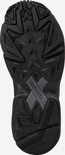 ADIDAS ORIGINALS Zemie apavi 'Falcon' pieejami melns: Skats no apakšas
