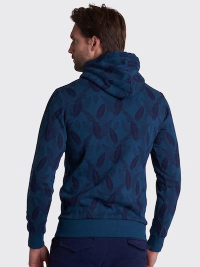 Shiwi Bluzka sportowa 'Floral electric' w kolorze ciemny niebieskim: Widok od tyłu