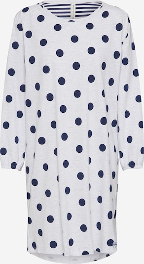 Short Stories Nachthemd in de kleur Donkerblauw / Wit, Productweergave