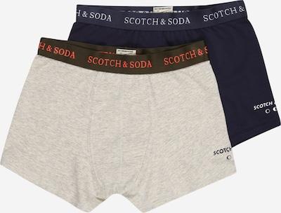Scotch Shrunk Boxershorts in navy / graumeliert / rot / schwarz / weiß, Produktansicht