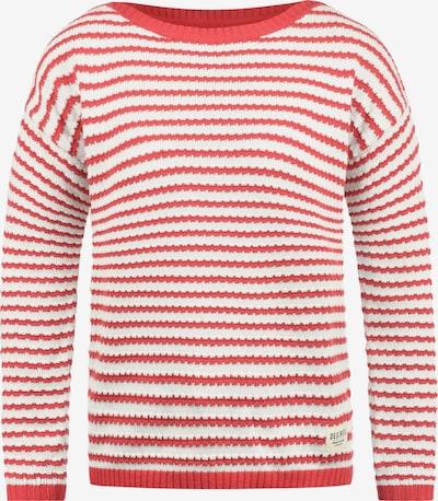 Desires Strickpullover 'Hilde' in rot / weiß, Produktansicht