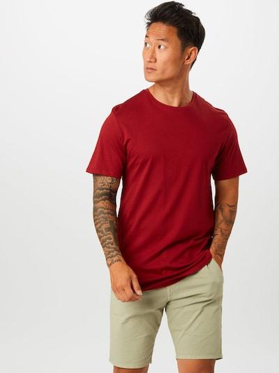 Only & Sons T-Shirt en rouge: Vue de face