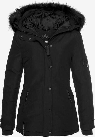 ALPENBLITZ Winterjacke 'Moskau' in schwarz, Produktansicht