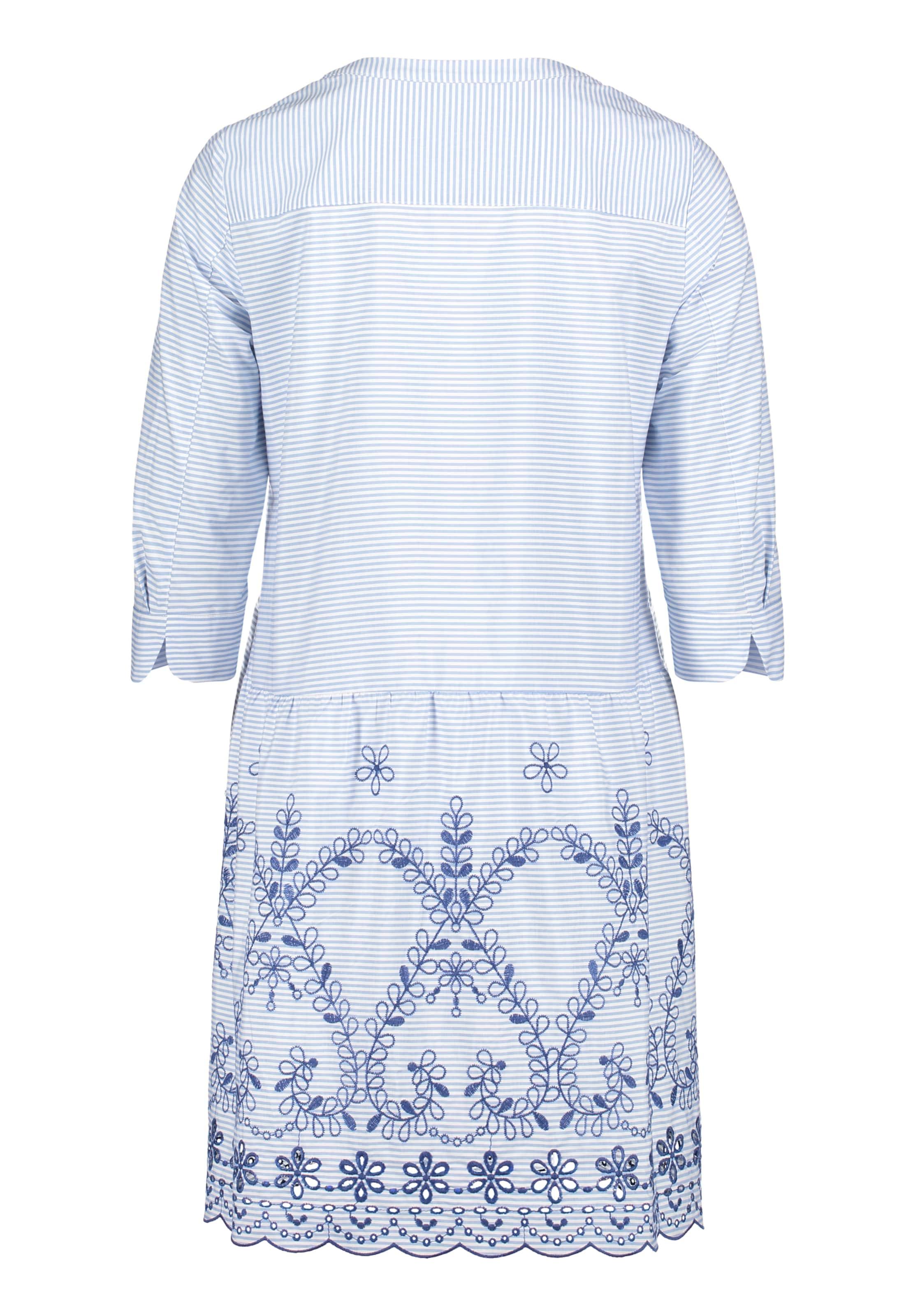 MarineHellblau Weiß Mont Vera Sommerkleid In UzqSMVp