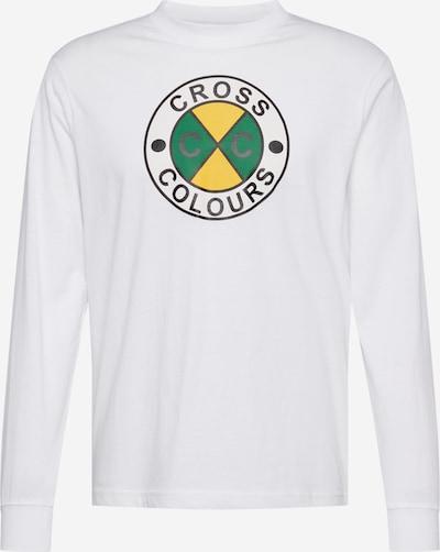 CROSS COLOURS T-Shirt en blanc, Vue avec produit