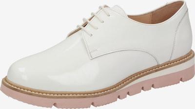 SIOUX Schnürschuh 'Meredith' in weiß, Produktansicht