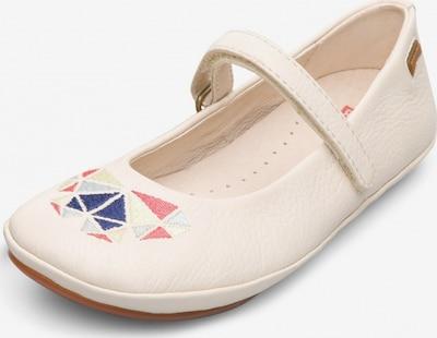 CAMPER Ballerina 'Twins' in beige / mischfarben, Produktansicht