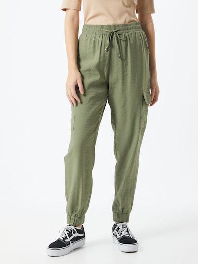 Love & Divine Klapptaskutega püksid 'love462' oliiv, Modellivaade