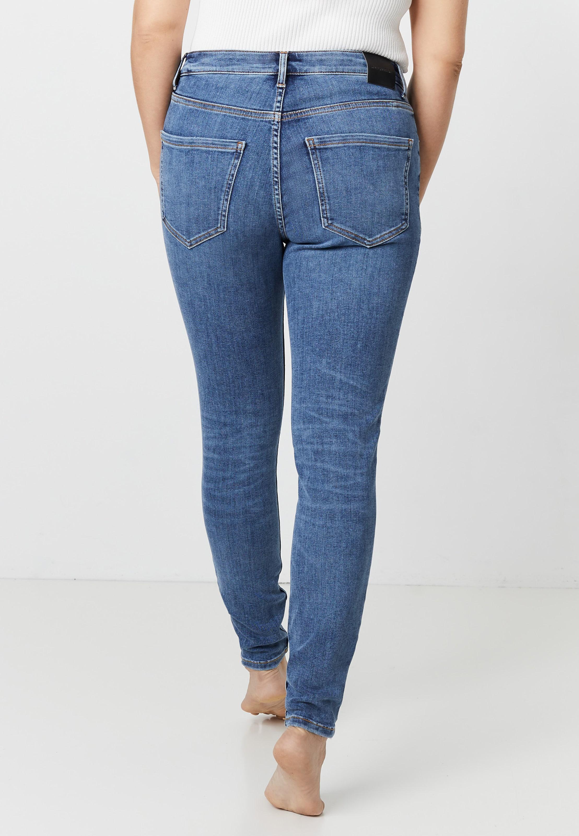 Hallhuber High 'ella' Denim Jeans In Waist Skinny Blue k8Nn0XwOPZ