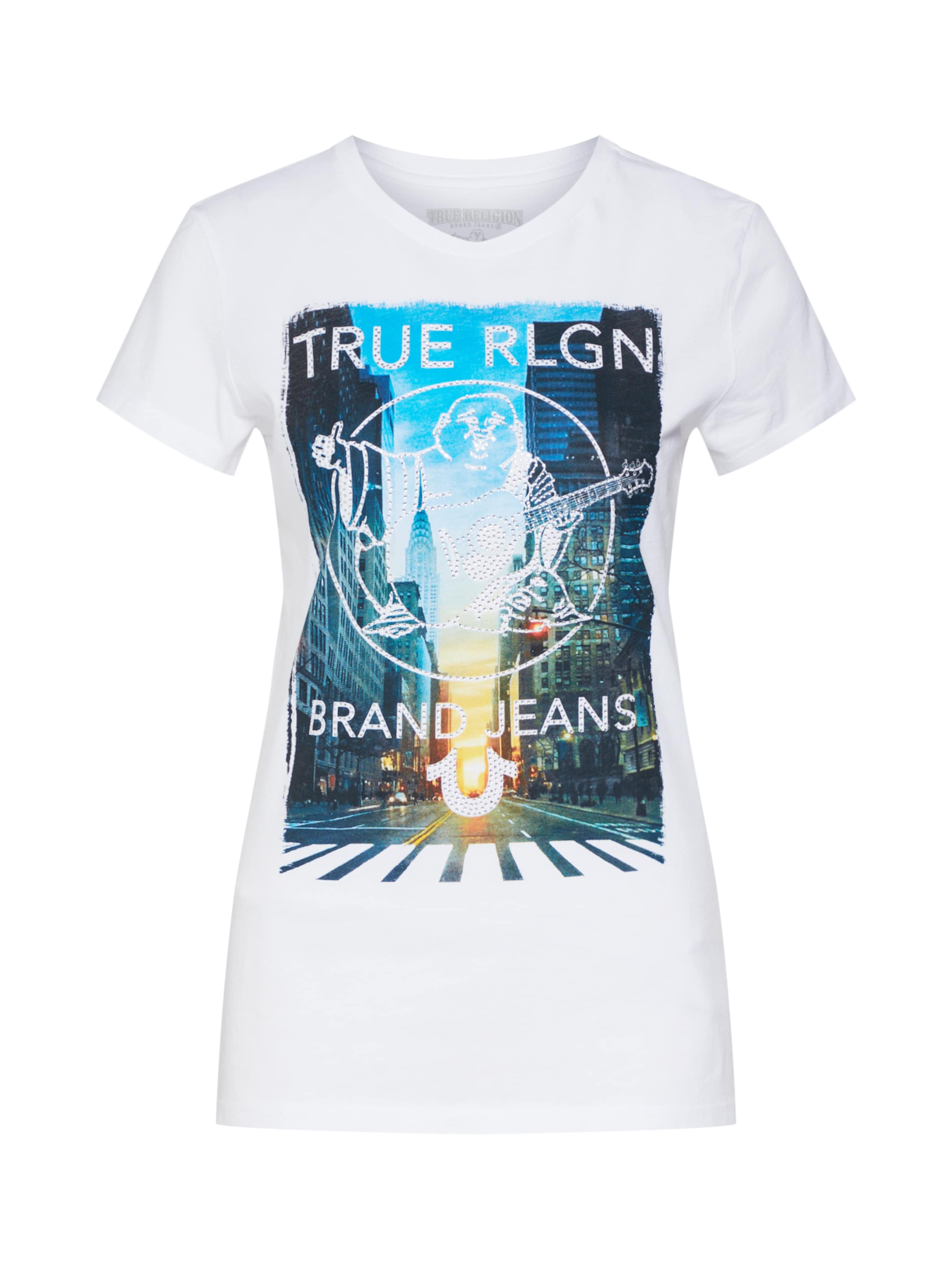 'crew City True Scape' Blanc T Religion shirt En PZiwuTOkX