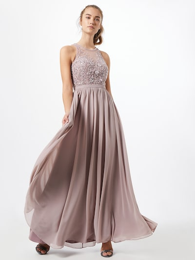 Unique Kleid in altrosa, Modelansicht