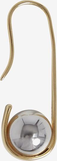 EDITED Boucles d'oreilles 'Bravis' en or / argent, Vue avec produit
