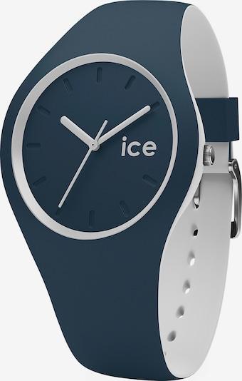 ICE WATCH Uhr 'ICE duo' in dunkelblau / naturweiß, Produktansicht