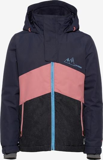 PROTEST Snowboardjacke 'Trickle' in kobaltblau / basaltgrau / pink, Produktansicht
