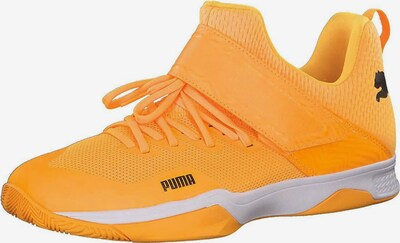 PUMA Handballschuh 'RISE XT EH 3' in goldgelb, Produktansicht