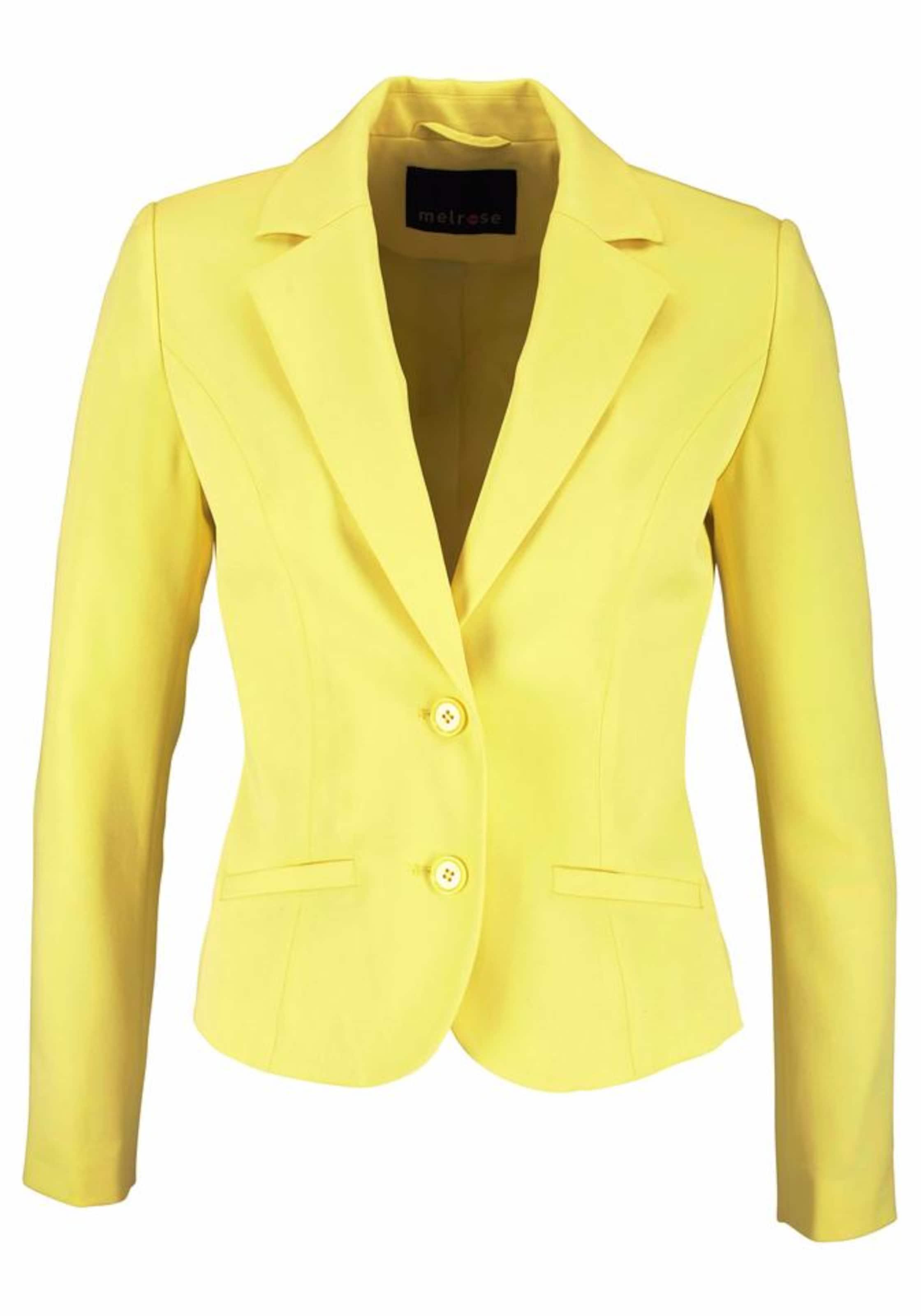 Melrose Melrose In In Gelb Gelb Blazer Blazer 8O0vwmNn