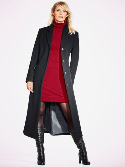 heine Blazermantel in schwarz, Modelansicht