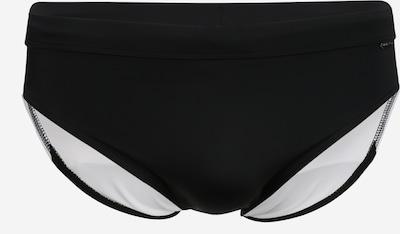 Slipi Calvin Klein Swimwear pe negru, Vizualizare produs