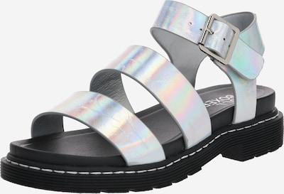 BULLBOXER Sandale in silber, Produktansicht