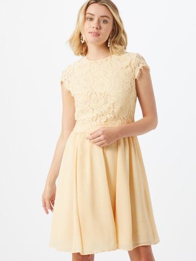 IVY & OAK Koktejlové šaty - krémová / citronová, Model/ka