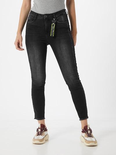 STREET ONE Jeans in black denim, Modelansicht