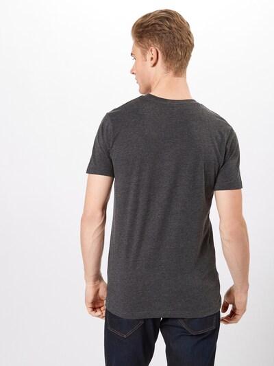 Mister Tee T-Shirt 'Pray' in graumeliert: Rückansicht