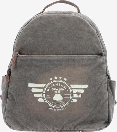 GREENBURRY Rucksack in khaki, Produktansicht