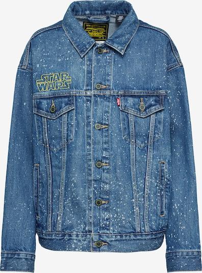 LEVI'S Prehodna jakna 'DAD TRUCKER' | moder denim barva, Prikaz izdelka