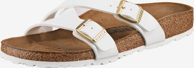 BIRKENSTOCK Pantolette 'Yao' in weiß, Produktansicht