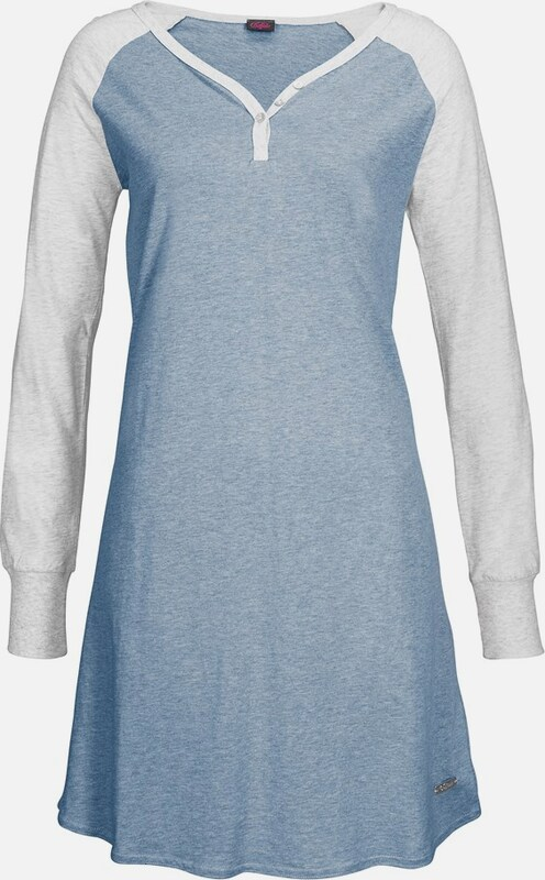 BUFFALO Langarm-Nachthemd