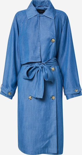 SOAKED IN LUXURY Trenchcoat 'SLNuna' in blue denim, Produktansicht