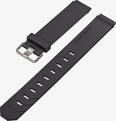 JACOB JENSEN Uhrenarmband in schwarz, Produktansicht