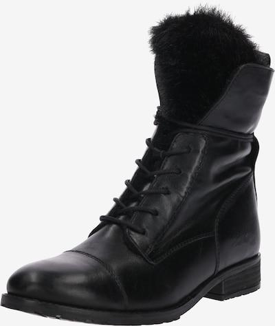 ABOUT YOU Schnürschuhe 'Sally' in schwarz, Produktansicht
