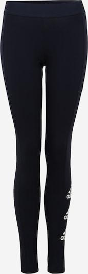 ADIDAS PERFORMANCE Pantalon de sport en bleu foncé / blanc, Vue avec produit