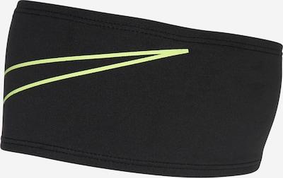 NIKE Znojnik za čelo u neonsko žuta / crna, Pregled proizvoda