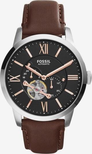 FOSSIL Analógové hodinky 'Townsman' - hnedá / strieborná, Produkt