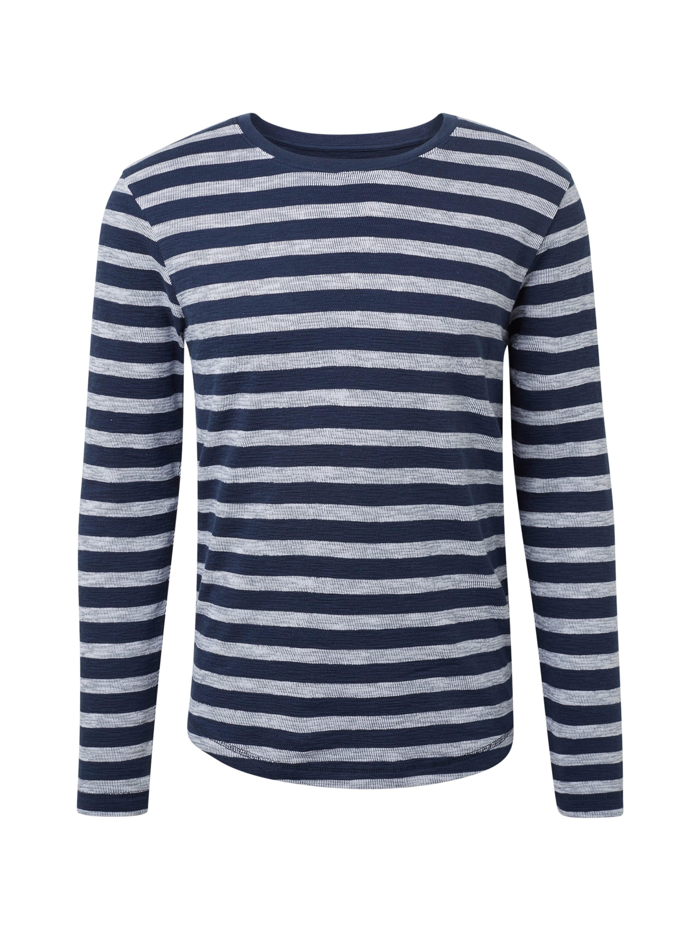 In NavyWeißmeliert T shirt Tom Tailor Denim qpSUzMV