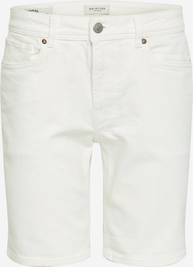 SELECTED HOMME Shorts 'ALEX' in white denim, Produktansicht