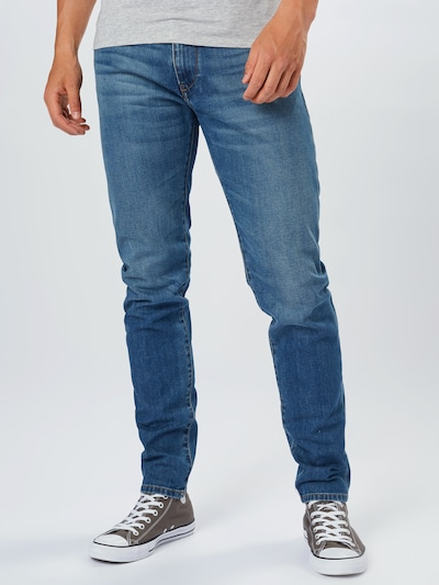 DIESEL Jeans 'D-STRUKT' in de kleur Blauw denim, Modelweergave