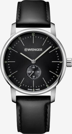 WENGER Uhr 'Urban Classic' in schwarz / silber, Produktansicht
