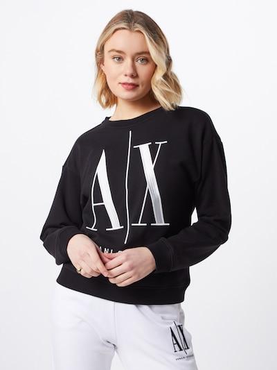 ARMANI EXCHANGE Sweater majica '8NYM02' u crna: Prednji pogled