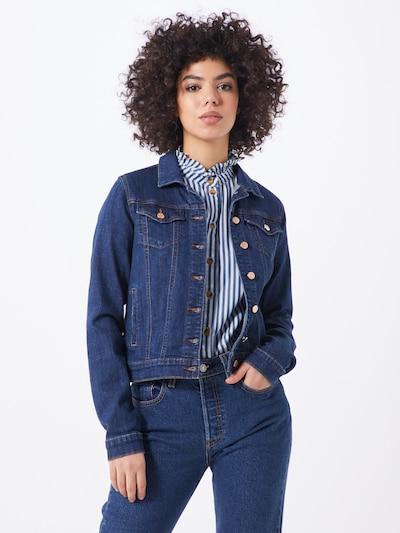 VILA Jeansjacke 'Vishow' in blau, Modelansicht