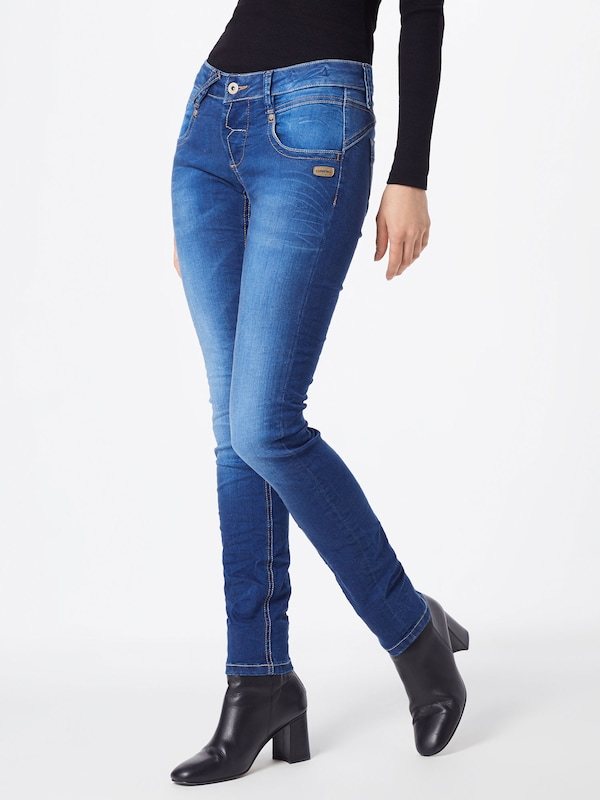 Gang Jeans 'NENA' in blue denim, Modelansicht