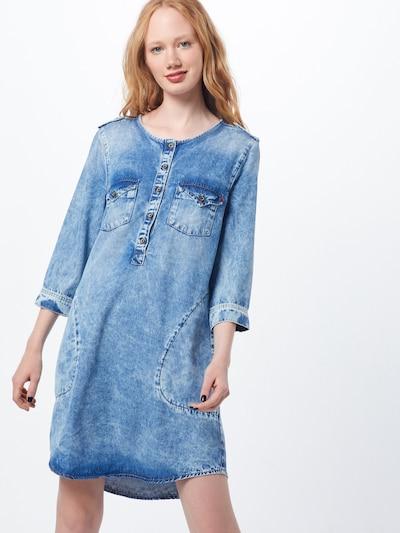 LTB Kleid 'ELORA' in blue denim, Modelansicht