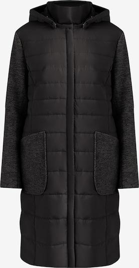 Finn Flare Wintermantel in de kleur Donkergrijs / Zwart, Productweergave